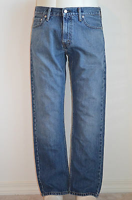 Levi's 504 Regular Straight Jeans Revolved NWT Style 299900015