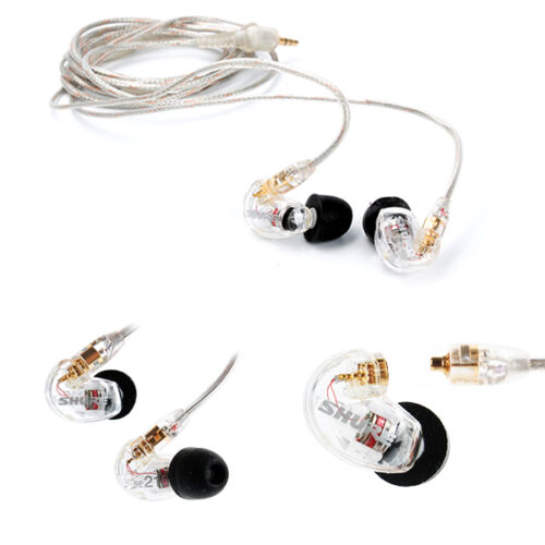 1 of 1 - Shure SE215 CL In-Ear Sound Isolating Earphones Single Dynamic MicroDriver NEW