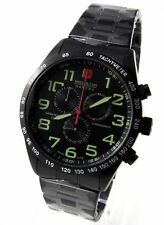 Swiss Military Hanowa 06-5268.13.007 caballeros reloj Chrono acero inoxidable negro > > nuevo