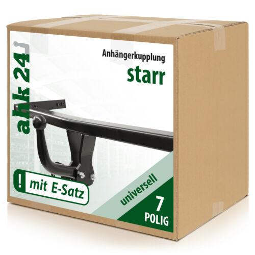 ELEKTROSATZ Neu ANHÄNGERKUPPLUNG starr für Fiat Doblo 03.2010-jetzt