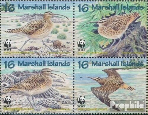 MarshallIslands 830833 block of four complete.issue. fine used cancelled 1