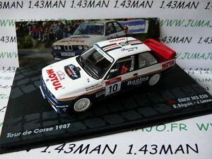 RIT35-voiture-1-43-IXO-Altaya-Rallye-Italie-BMW-M3-Motul-E30-Beguin-Corse-1987