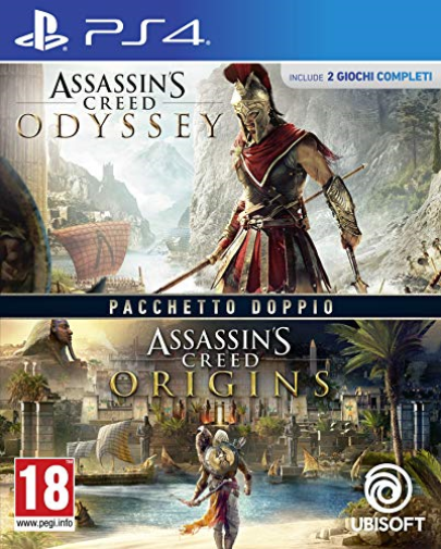 PS4-Assassin`S Creed: Odyssey + Origins - It (Ps4) GAME NUOVO