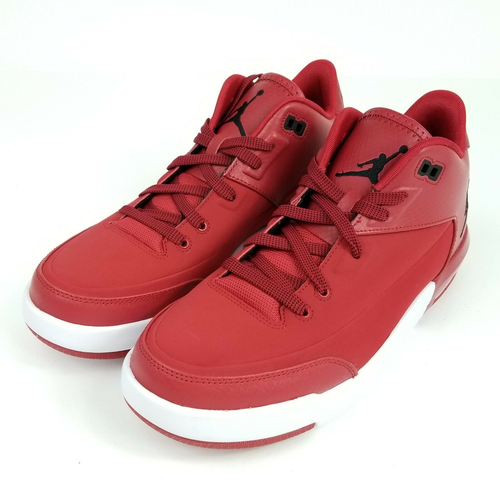 NIKE JORDAN FLIGHT ORIGIN 3 Mens Sz 9.5 Shoes GYM RED BLACK 820245 601 Seasonal clearance sale