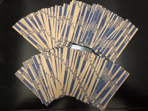 60 Flat NICKEL Coin Wrappers