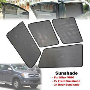 Car Window Side Sun Shades Sunshades Sun Visors For Toyota Hilux ... fbd78e4fc5e