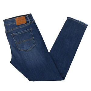 Lucky-Brand-Mens-Jeans-110-Modern-Skinny-Fit-Pants-Blue-Denim-Casual-Lean-New