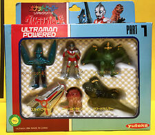 ULTRAMAN POWERED MINI FIGURE PART 1 BALTAN  PIGMON YUTAKA CHANDORA KAIJU JAPAN