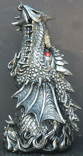 "PUFF   Dragon Head Incense Holder    Figurine  Statue   H12"" x W5.75"""