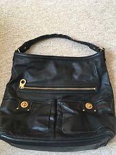 Black Leather Marc Jacobs Bag