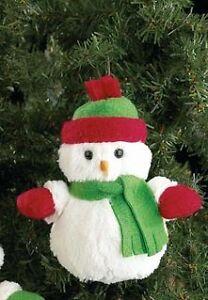 "Bearington Christmas Orn ""Frankie Flurry"" (Green Scarf)"