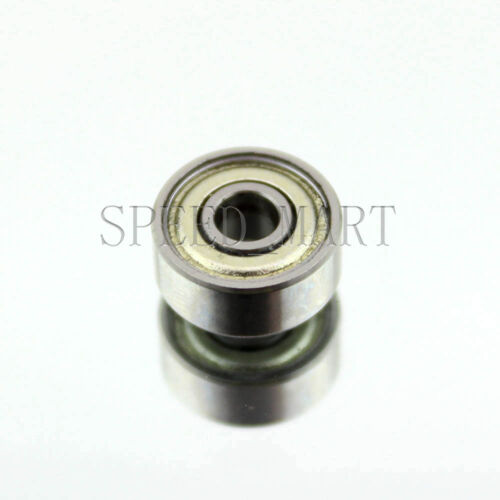 "R2zz R2 1//8/"" x 3//8/"" x 0.156/"" Metal Shielded  Ball Bearings"