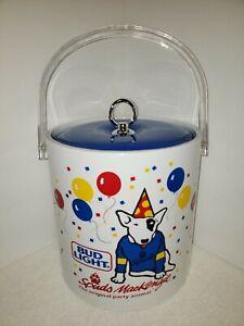 Vintage-Spuds-MacKenzie-Bud-Light-Beer-Ice-Party-Bucket-Container-NICE-1987