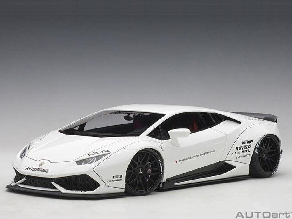 se descuenta 1 18 Autoart Autoart Autoart 79120 - Liberty Walk Lb-Works Lamborghini Huracán en blanco blancoo  mejor oferta