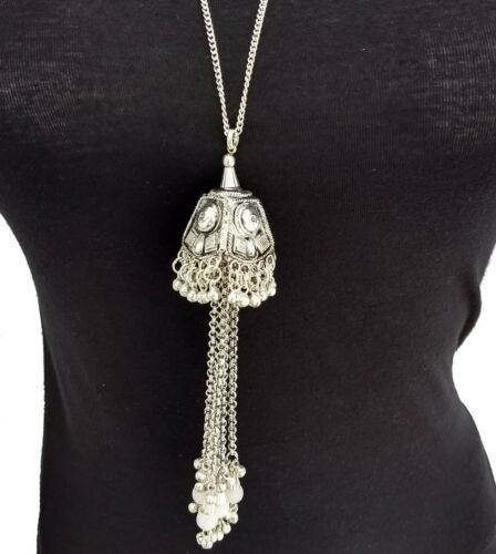 Style Vintage Statement Chaîne Longue Collier Tassel Bohémien Gypsy Fashion notamment jewery