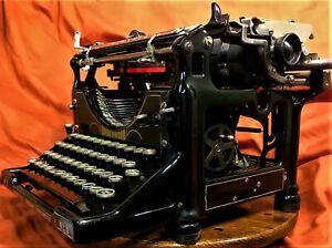 Vintage Underwood No5 Typewriter restored 1923 manual type machine