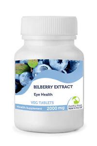 Bilberry-Extract-Eye-Health-30-60-90-120-180-250-Veg-Tablets-Pills