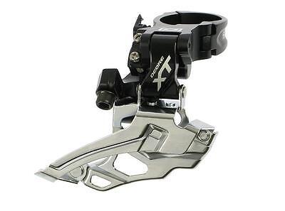 Shimano Deore XT desviadores fd-m785 e2 E-Type 2x 10 veces Top Swing negro