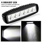 2x 18W CREE LED Work Light Bar Spot Offroad ATV UTE SUV Fog Lamp Truck Boat 4WD