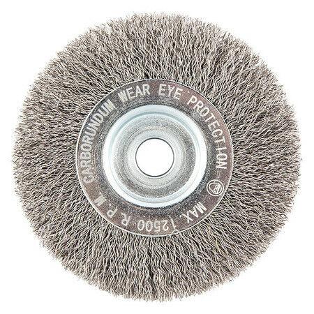 """Wire ZORO SELECT 66252838672 Wire Wheel Brush,0.0118/"""" dia"""