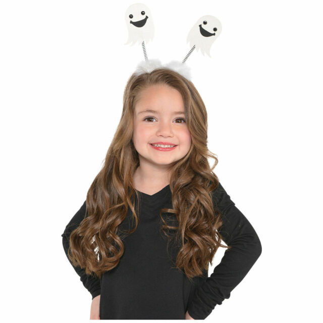 Kids Adult Witch Headband Halloween Fancy Dress Hairband Party Head Boppers