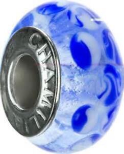 Chamilia DESERT BLUSH 4 Piece SET Murano Glass Sterling Bead OG-2 $125 Retired