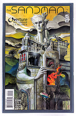 Dc/vertigo Comics Analytical Sandman Overture #2 Cover A Jh Williams Iii Nm 1st Print