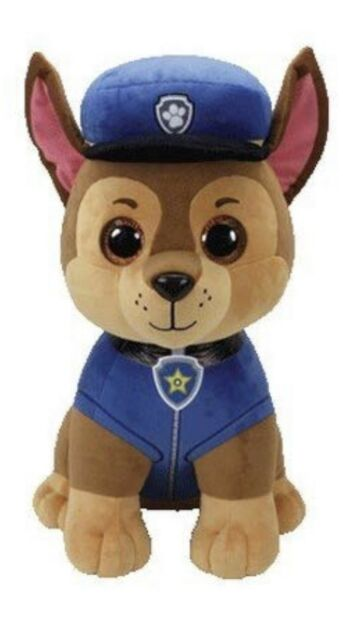 Ty Beanie Babies 90250 Paw Patrol Chase Shepherd Dog Large for sale ... acaa32f27cca