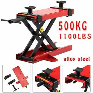 motorcycle bike motorbike stand scissor lift jack paddock workshop table bench 711005736435 ebay. Black Bedroom Furniture Sets. Home Design Ideas