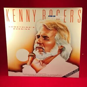 KENNY-ROGERS-Something-039-s-Burning-1987-UK-Double-Vinyl-LP-EXCELLENT-CONDITION