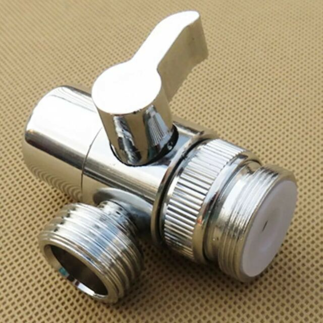 Bathroom Kitchen Sink Valve Diverter Faucet Splitter Hose Adapter M22 X M24 1 2 For Sale Online Ebay