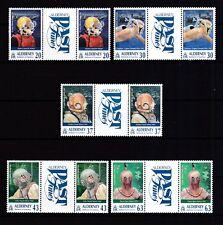 Alderney 1998 postfrisch Stegpaar MiNr. 113-120  Taucherverein auf Alderney