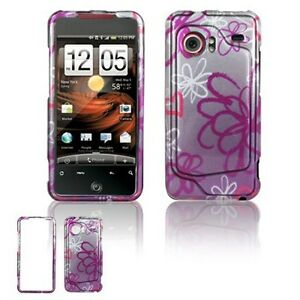 Lime-Flower-Hard-Case-Cover-for-HTC-Droid-Incredible