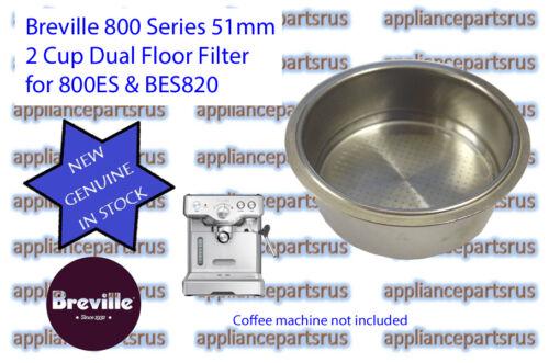 Breville Coffee Machine Dual Floor 2 Cup Filter 800ES BES820 Part 800ES//235.1