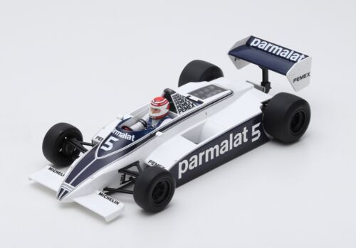 Brabham F1 Bt49C #5 Winner Argentine Gp 1981 Piquet World Cham.SPARK 1:18 18S166