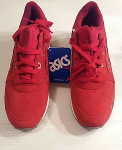 6d1628cf Details about Asics GEL-LYTE III 3 Puddle Pack Red White Gray Men's Size 8  H5U3L-2323