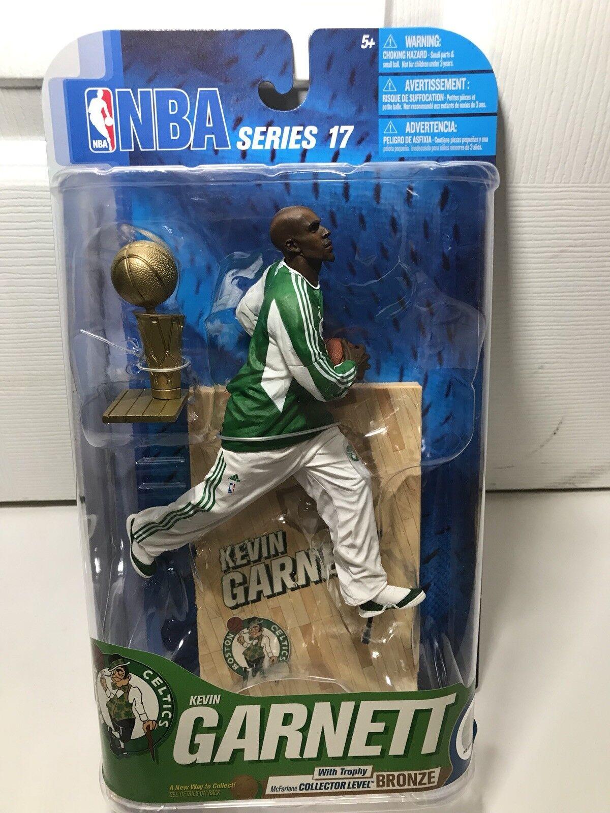 McFarlane NBA Series 17 Kevin Garnett Boston Celtics collector niveau  402 de 1600
