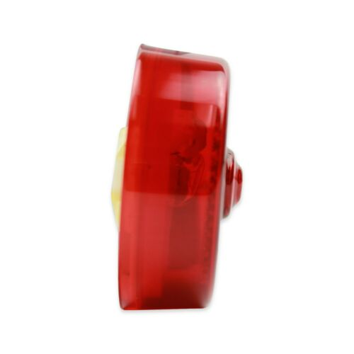 """2 pk round RED 2.5/"""" Incandescent replacement Light Trailer; Marker"""