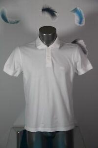 joli polo manches courtes blanc régular fit HUGO BOSS taille M EXCELLENT ÉTAT