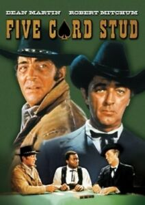 Five-Card-Stud-New-DVD-Mono-Sound-Widescreen