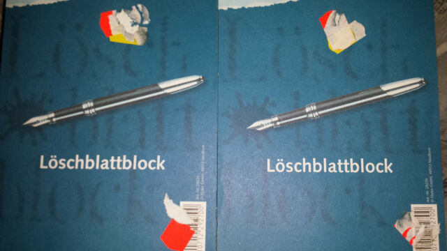 Stylex 20 Blätter Löschblattblock DIN A 5