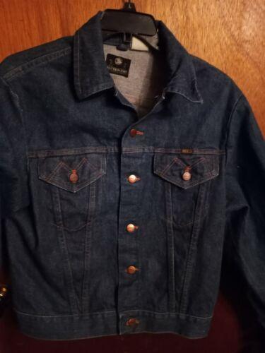 Vintage Mens Maverick Blue Bell Denim Jacket
