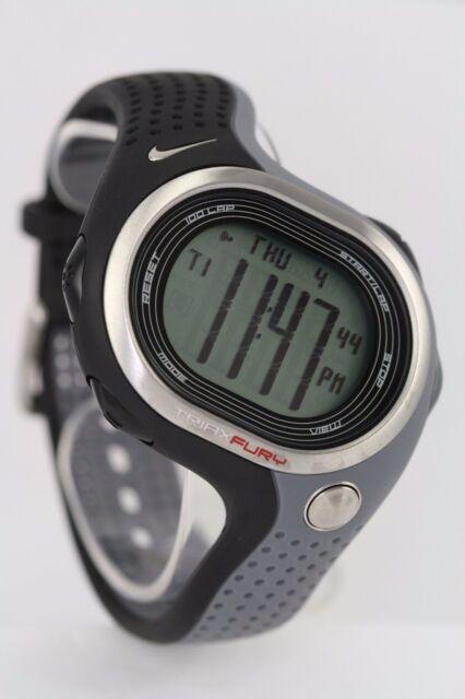 mieux aimé dc5a2 dbbc6 Nike Triax Fury 100 Super Wr0140 857 Runner Watch With Battery