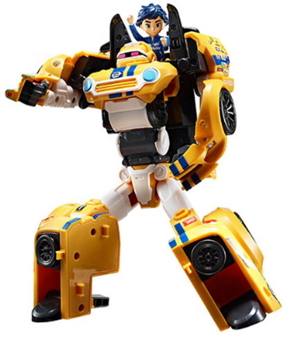 Young Toys Athlon THETA Transformation Car Robots Toy for Kids Boys Age 3