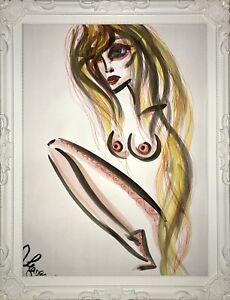 Margarita-Bonke-Malerei-PAINTING-erotica-EROTIK-FRAU-WOMEN-akt-nu-art-Nackt-Nude