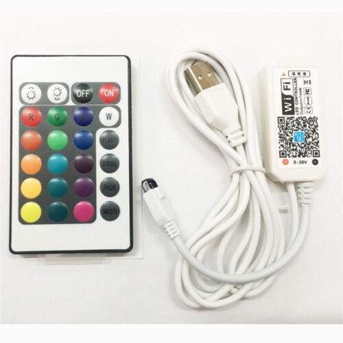 Magic Home WiFi Smart USB LED Streifen 5050 RGB Flexible TV Desktop LED Licht