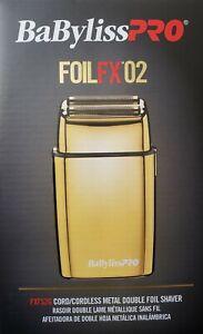 Babyliss-Pro-FOILFX02-Cordless-Double-Foil-Shaver-110-220-Volts-FXFS2G