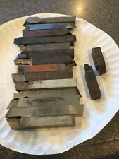 Lathe Steel Cutting Bits 12 X 4 Square 16 Pcs Mo Max Etc Machinist Tool