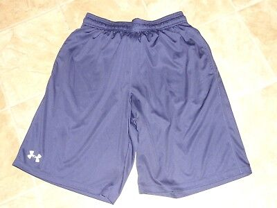 Men's Clothing Activewear Tops Men's Under Armour Loose Navy Shorts Md Nwot Be Shrewd In Money Matters