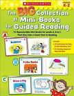 The Big Collection of Mini-Books for Guided Reading: 75 Reproducible Mini-Books for Levels A, B & C That Give Kids a Great Start in Reading by Deborah Schecter, Liza Charlesworth (Paperback / softback)